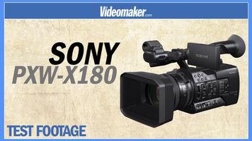 Sony PXW-X180 Test Footage