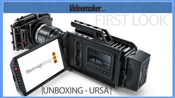 UNBOXING - Blackmagic Design URSA 4k RAW