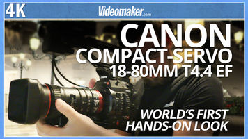 World's First Hands-On - Canon Compact-Servo 18-80mm T4.4 EF Lens & Log3 - First Look