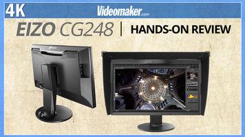 Eizo CG248 - UHD 4k self calibrating monitor - Review