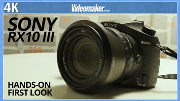 Sony RX10 III - Hands-on First Look with Test Footage