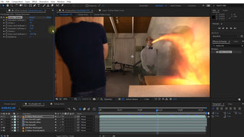 DRAGON BREATH FIRE VFX - Adobe After Effects Tutorial (SPONSOxRED)