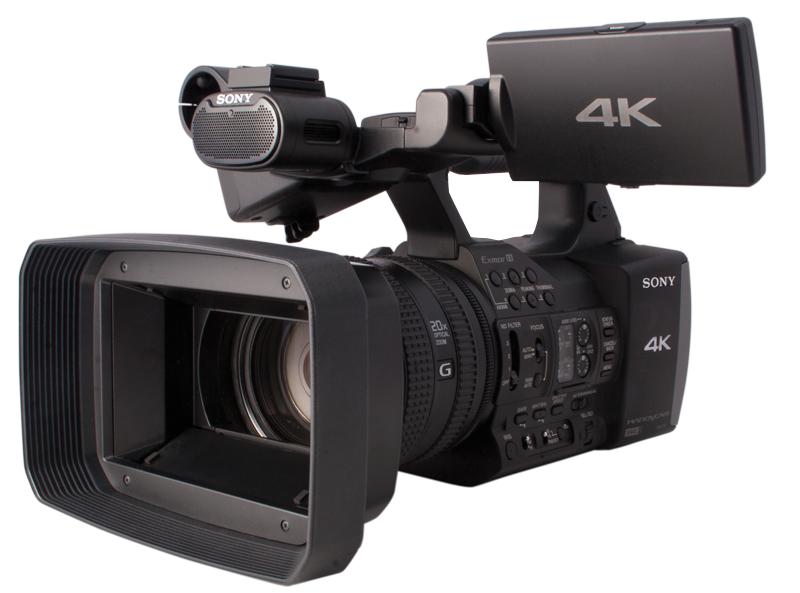 Sony Photo Camera Photo of The Sony Fdr-ax1 4k