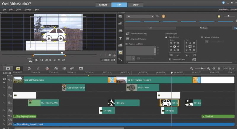 Corel VideoStudio Pro X7 Review   Videomaker.com