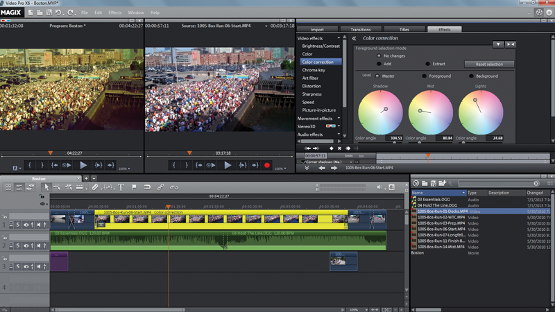 Magix Video Pro X6 Video Editing Software Review