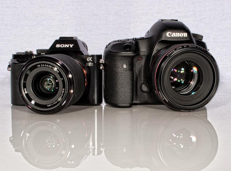 Sony Photo Camera Photo of a Sony Alpha 7 Camera