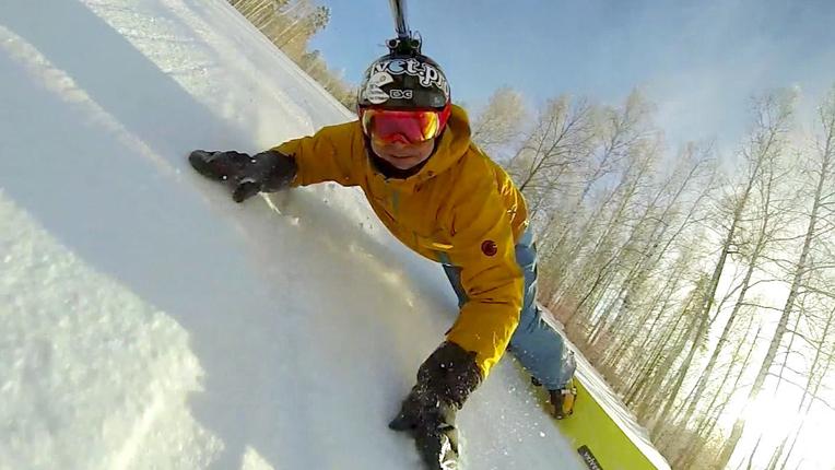 Imagini pentru action camera selfie stick winter