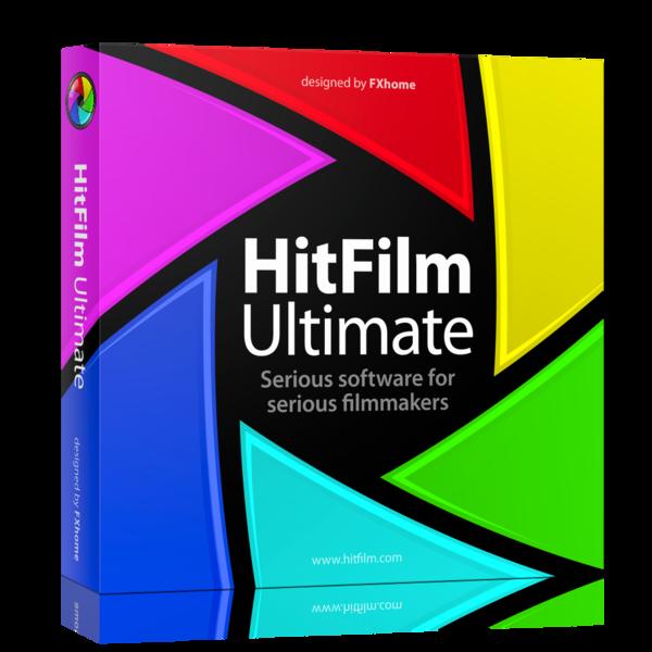 برنامج مونتاج وتعديل الفيديو HitFilm